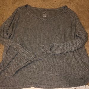 Tops - american eagle soft & sexy ribbed top
